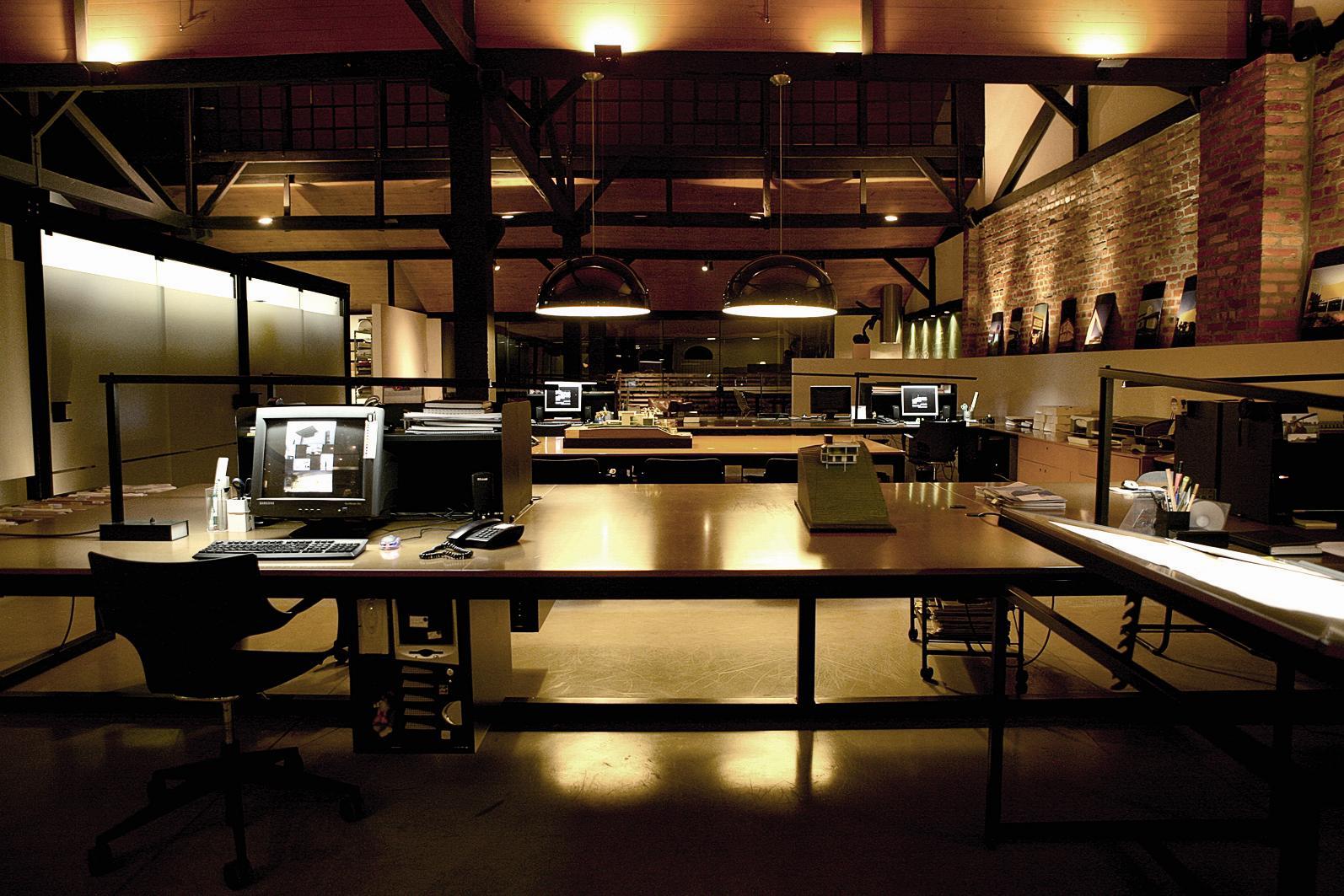 #AB7A20 Metroquadrado®: Escritório Joinville SC ARCOweb 1594x1063 px mesa escritorio usada sp @ bernauer.info Móveis Antigos Novos E Usados Online