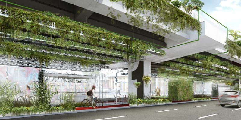 jardim vertical minhocao : jardim vertical minhocao:Após a aprovação da Câmara Municipal de São Paulo, em novembro de