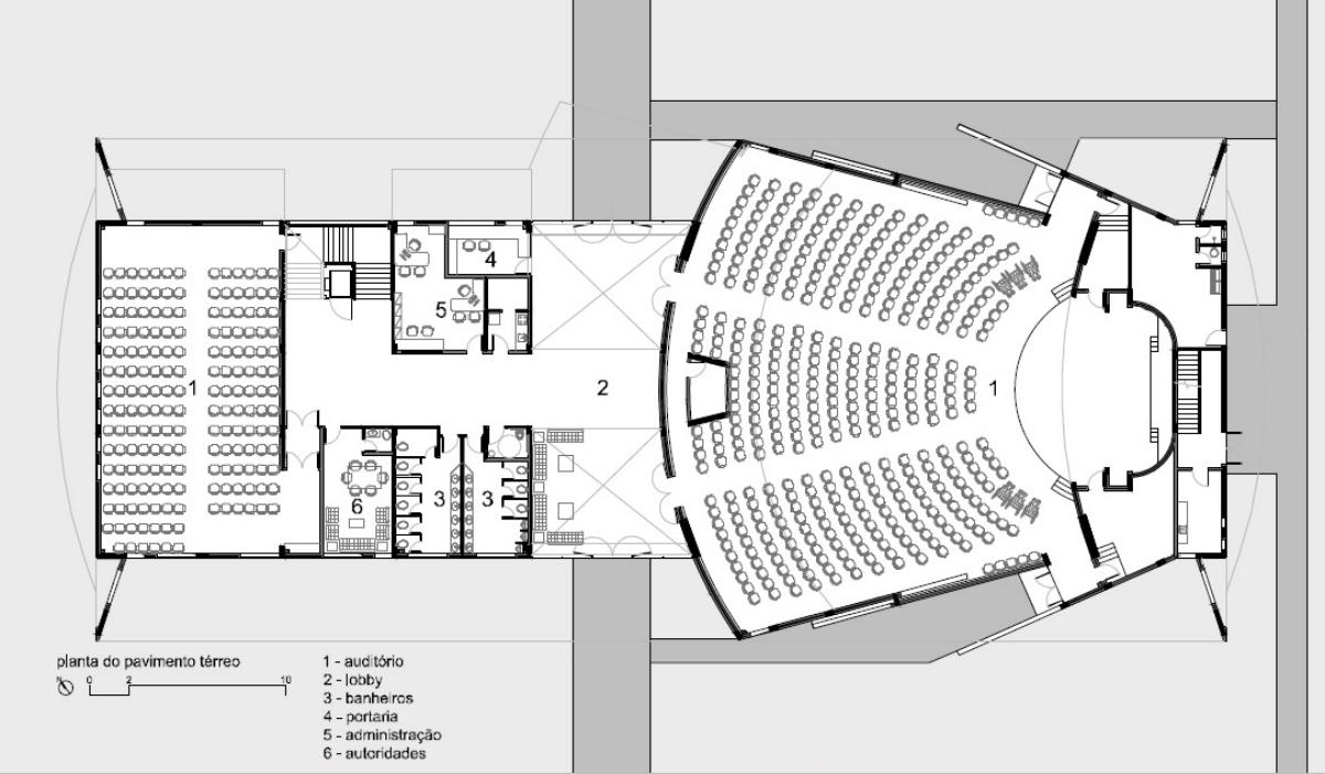 Hardt planejamento centro cultural da bsgi curitiba pr for Medidas de mobiliario escolar inicial