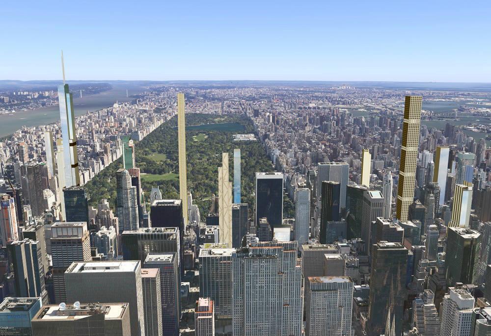 Imagens 3d Preveem Skyline De Nova York Em 2018 Arcoweb