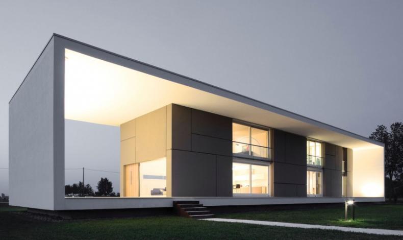 Casa do dia andrea oliva arcoweb for Casa tipo minimalista