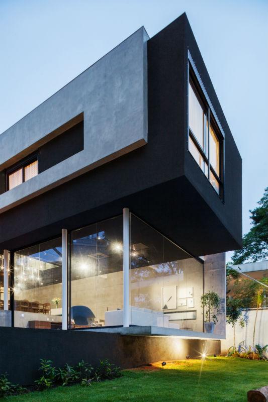 Fgmf arquitetos casa mattos s o paulo sp arcoweb for Casas modernas famosas