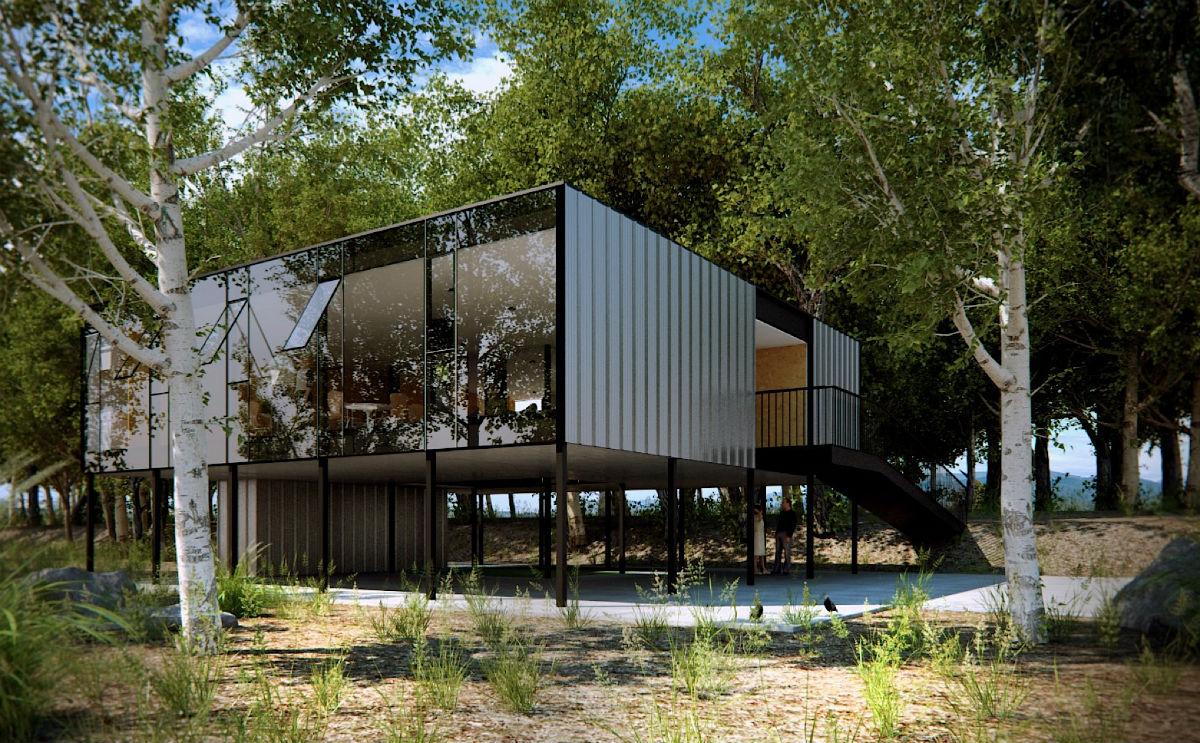 Mapa Arquitetos: Casa Professores UFRGS, Porto Alegre ...
