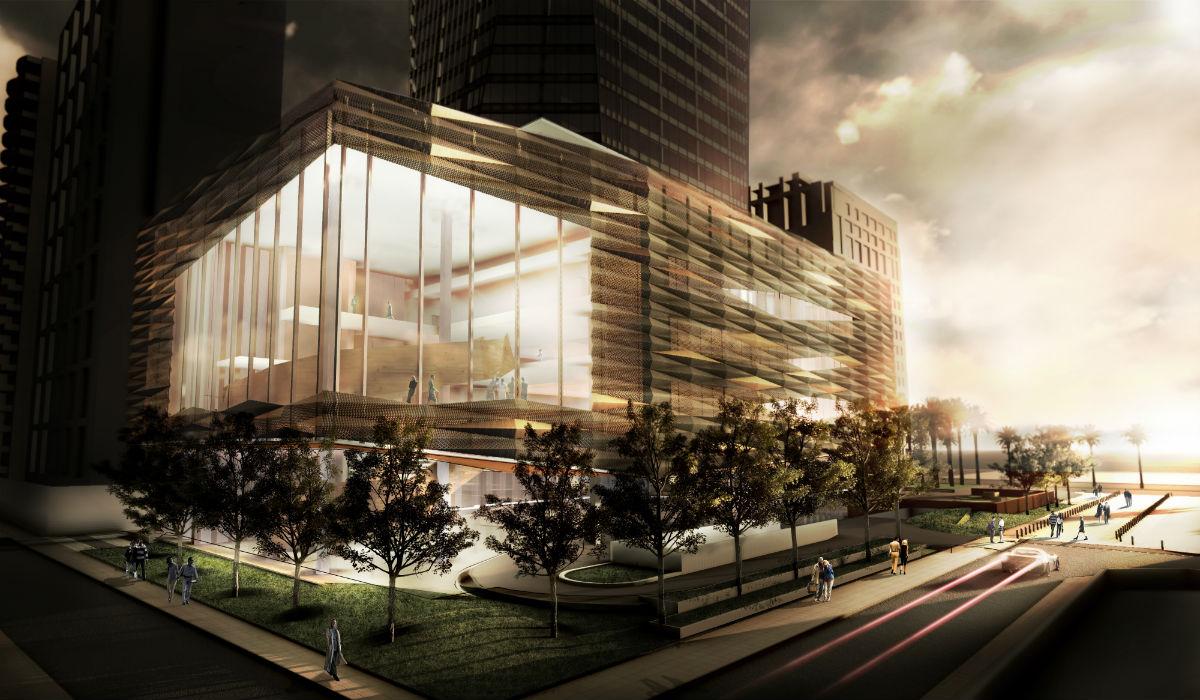 Extremamente Pei Partnership: Edifício comercial B32, São Paulo - ARCOweb YR65