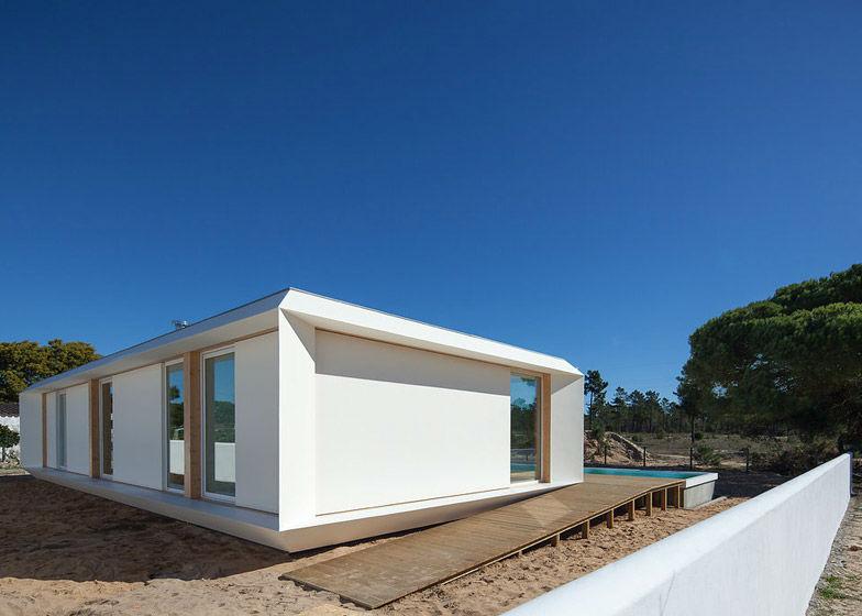 Casa pr fabricada portuguesa prima pelo design e fun o - Casas prefabricadas portugal ...