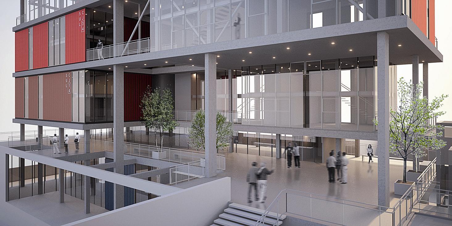 Suficiente Andrade Morettin Arquitetos Associados: Edifício comercial, São  JW49