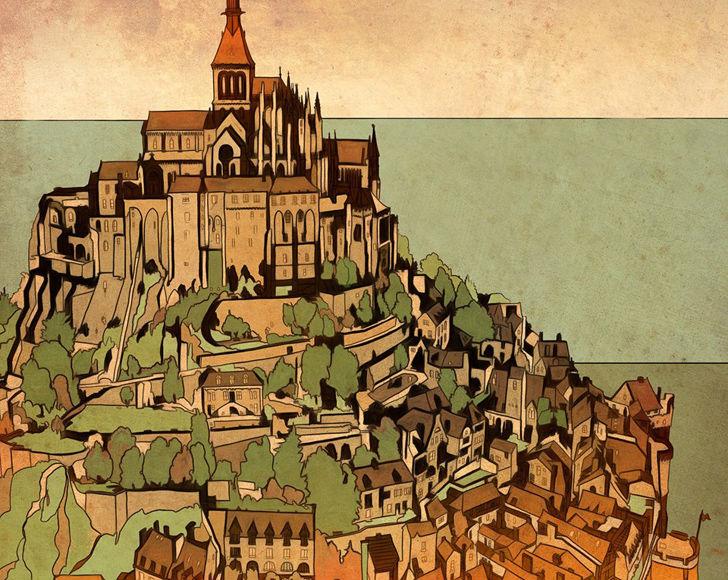 Livro Para Colorir Reune Ilustracoes De 60 Cidades