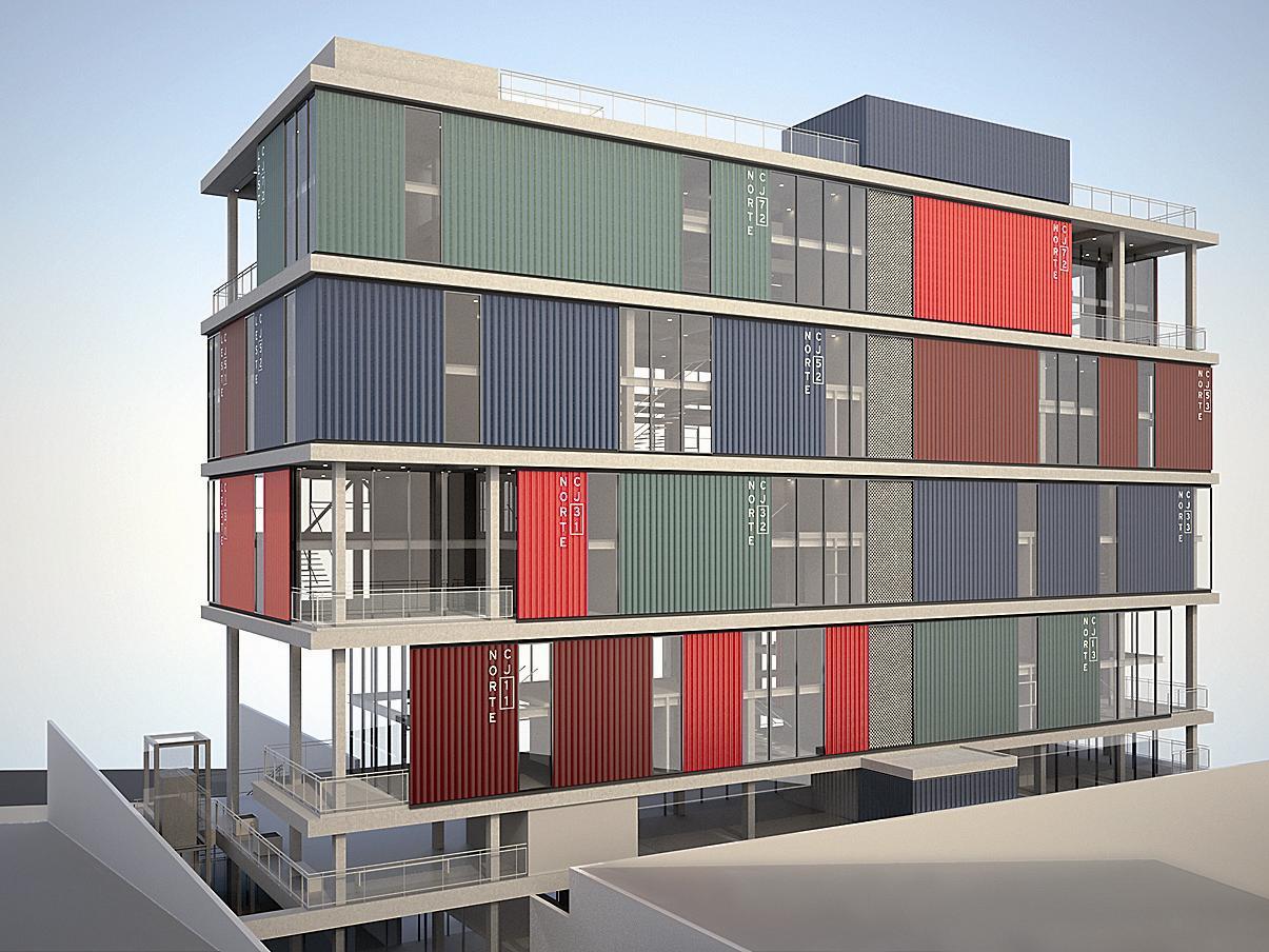 Amado Andrade Morettin Arquitetos Associados: Edifício comercial, São  JL52