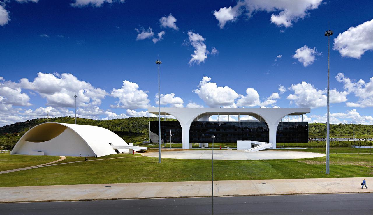 Oscar Niemeyer: Cidade Administrativa Presidente Tancredo