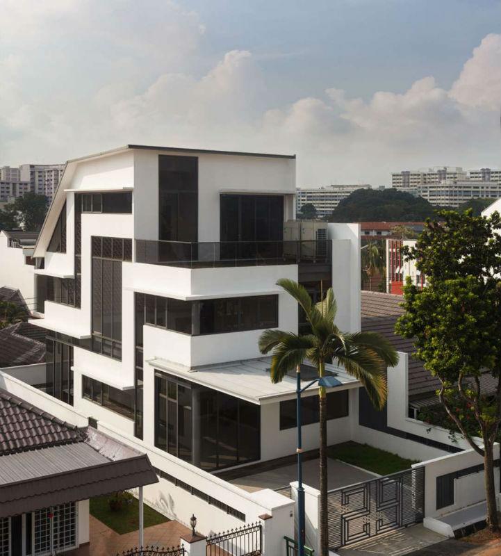 Cinco casas que incorporam os cinco pontos de Le Corbusier