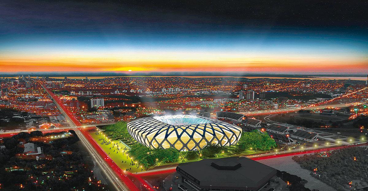 Gmp Grupo Stadia Arena Da Amazonia Manaus on Modelo Do Sistema Solar