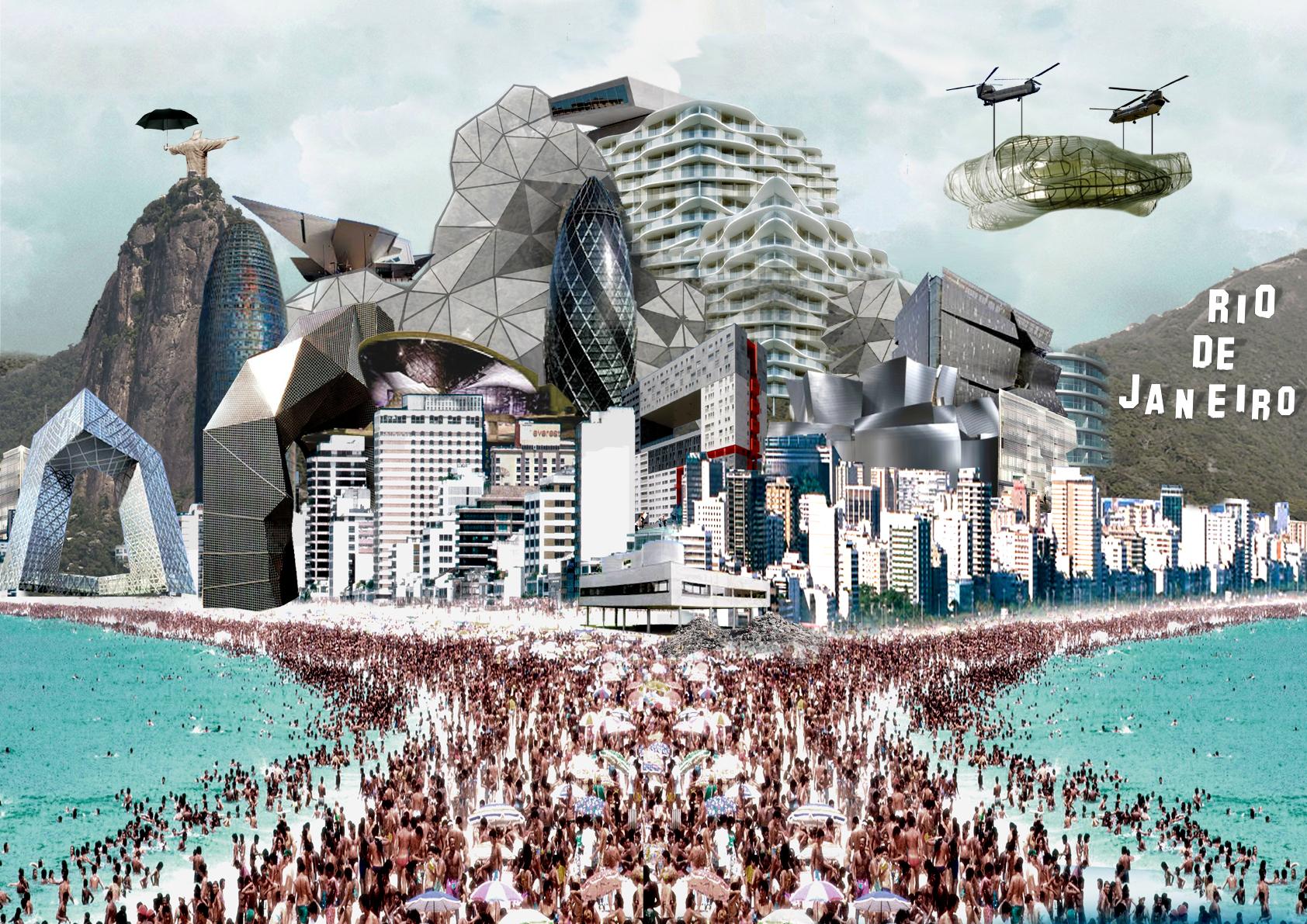 Expo Cake Design 2018 Rio De Janeiro : Em concurso, arquitetos imaginam o Rio de Janeiro daqui a ...