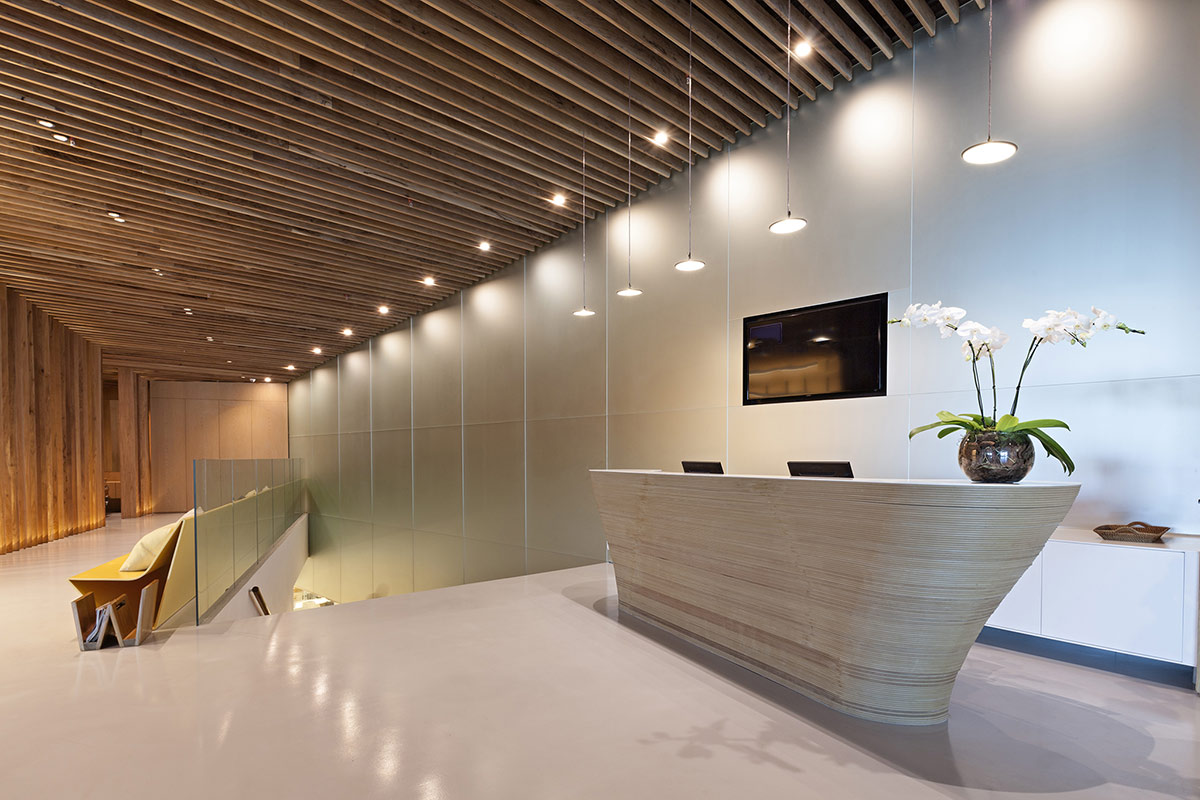Arquitetura: Salão de beleza C. Kamura Rio de Janeiro ARCOweb #9C662F 1200x800