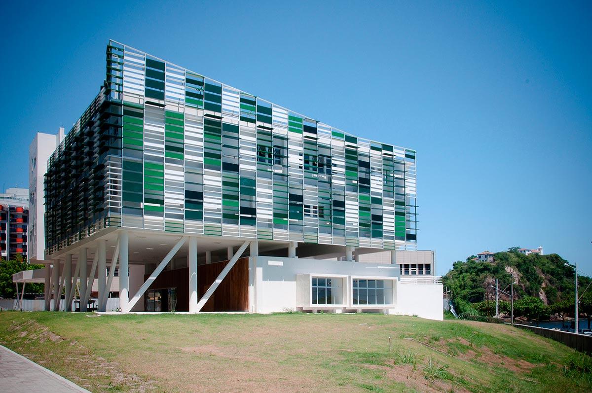 #1C6B89 Oficina de Arquitetos: Núcleo de Estudos da UFF Niterói RJ  1722 Janela De Alumínio Niteroi