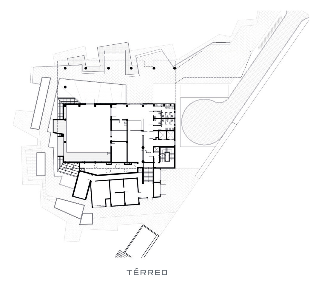 #5A5A71 Oficina de Arquitetos: Núcleo de Estudos da UFF Niterói RJ  1722 Janela De Alumínio Niteroi