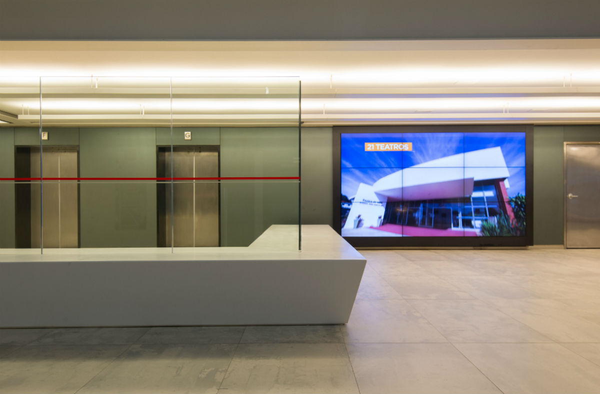 Avitá Design: Retrofit dos escritórios da Fiesp São Paulo  #0C44BF 1200x789