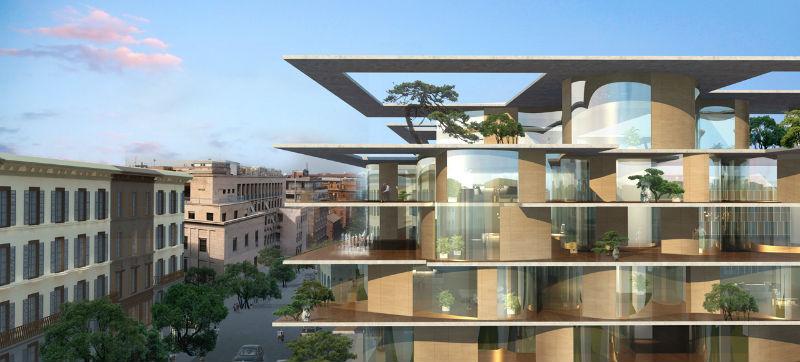 Retrofit em roma primeiro projeto do mad na europa arcoweb for Architettura e design roma